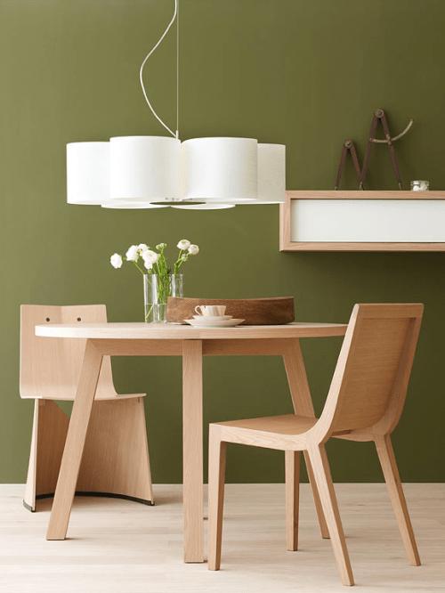 10 Deko Ideen  Mbel aus Naturholz in grellen Farben