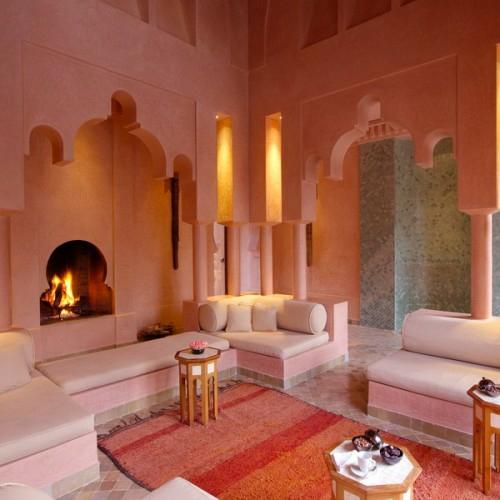 Modernes Wohnzimmer Im Marokkanischen Stil  parsvendingcom