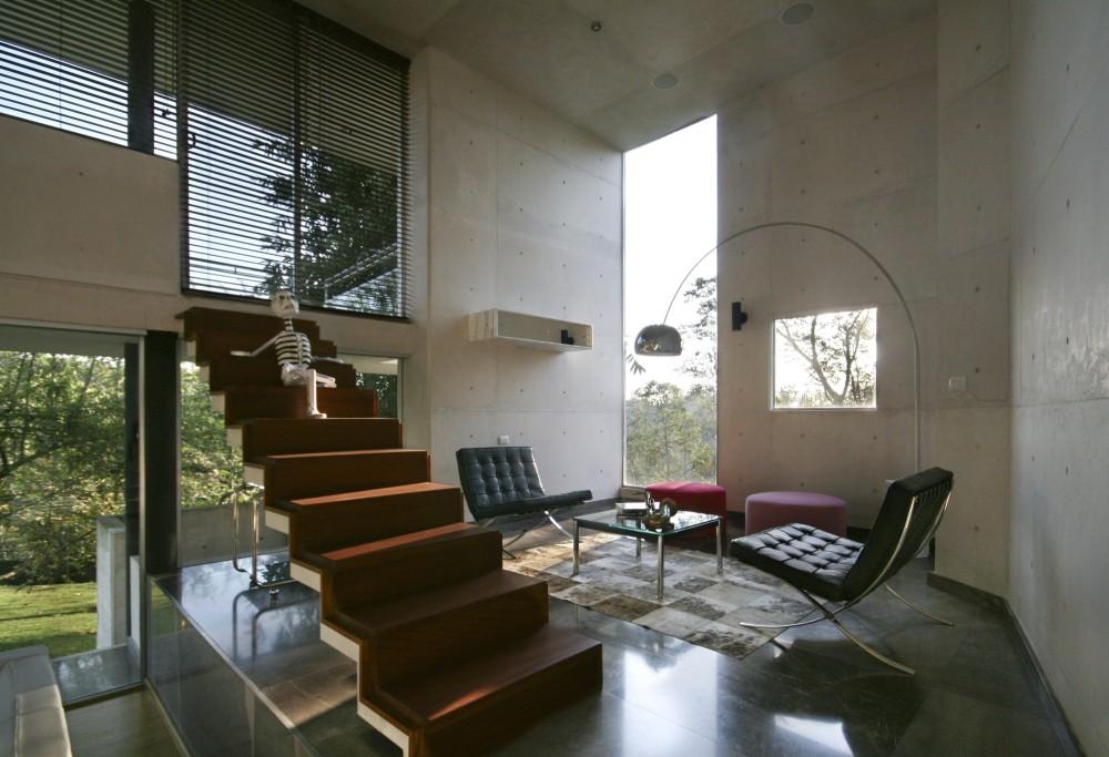 ledersessel modern  gemütliches wohnzimmer gestalten 30