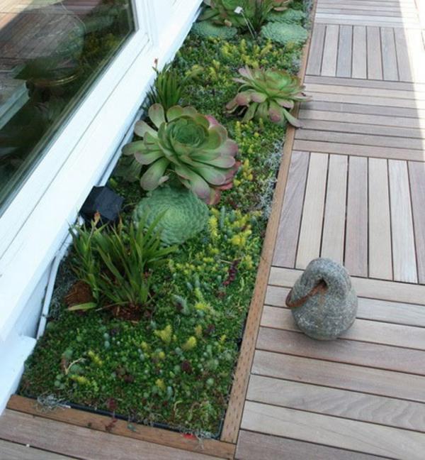35 wundervolle Deko Ideen fr den Garten mit Sukkulenten