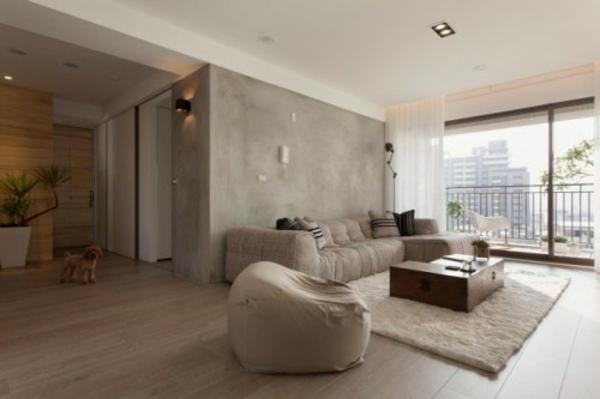 wohnzimmer farbe grau – ecksofa 2017 – ragopige
