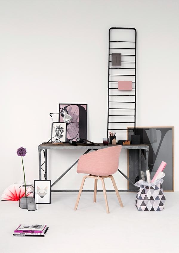 Farbschema Graurosa Interieur Design Ideen