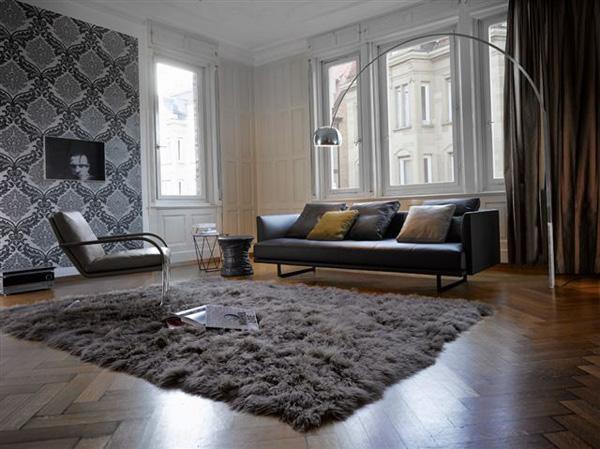 Stilvolles Interior in Grau  multifunktionale Entscheidung