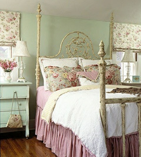 Frhlingsdeko im Schlafzimmer  44 wundervolle Ideen
