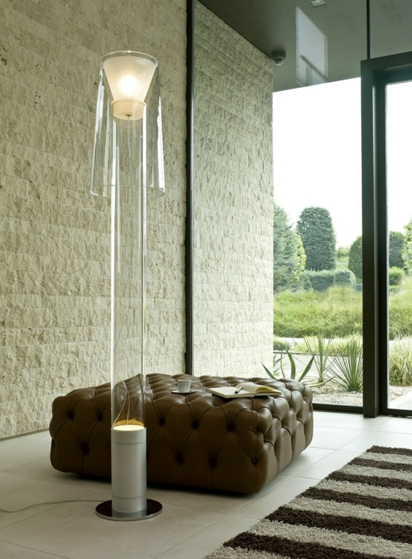 Stehlampen Modern. Wohnzimmer Stehlampe Design Teppich. Modernes ...