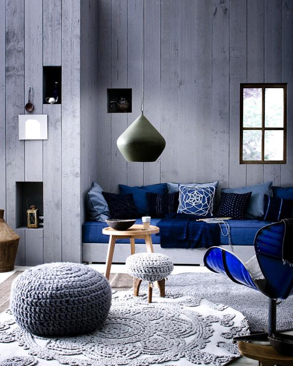 Wohnzimmer Modern Blau – Babblepath – Ragopige.Info