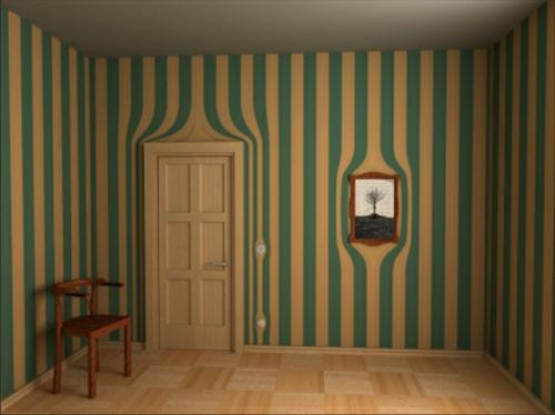 Surrealistische Tapeten fr mehr Spa in jedem Raum