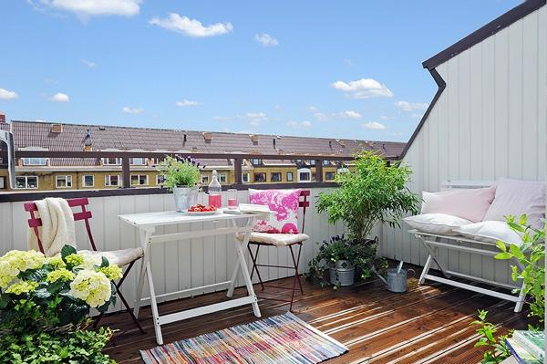 77 praktische Balkon Designs  Coole Ideen den Balkon originell zu gestalten
