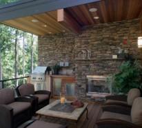 Bequemer Sitzplatz im Garten  20 stilvolle Sitzecken im Freien