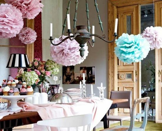 Hochzeitsdekoration Raumgestaltung