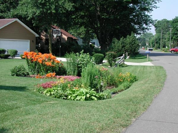 Regen Garten Benutzen Sie Das Regenwasser