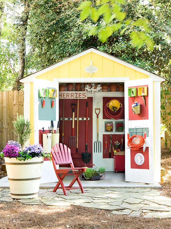 Schickes Huschen im Garten  10 frische Ideen