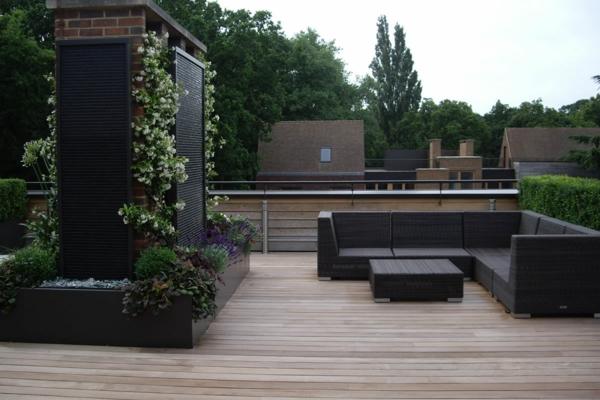 Sichtschutz Für Terrassen Coole Bilder Von Terrassen Designs