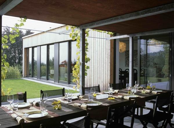 Sommer Gestaltungsideen  integrierte Innenund Auenrume
