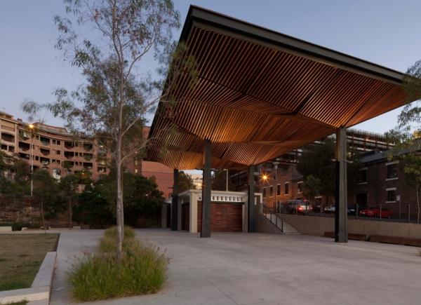 Coole Terrassenberdachung Ideen  extravagante Designs