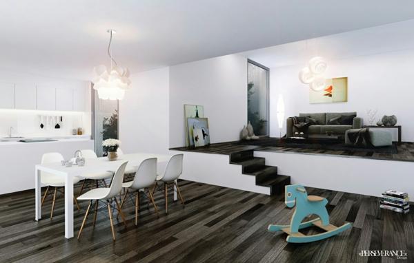 Coole Esszimmer Designs in Wei  aufregende Designer Vorschlge