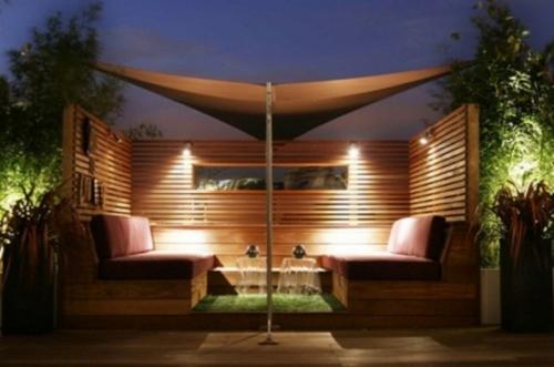 Designer Dachterrasse  30 coole Einrichtungsideen