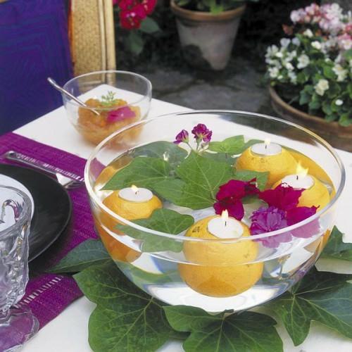 37 coole Kerzen Ideen fr den Sommer schnes Prunkstck auf dem Tisch