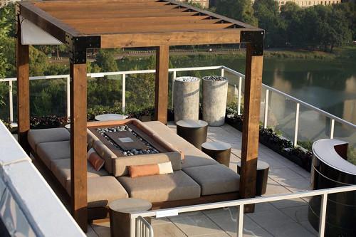 Moderne Dachterrasse Unterhaltungsmoglichkeiten Emejing Moderne ...