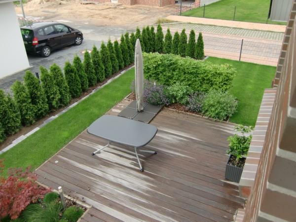 Sichtschutz Für Terrasse Eine Grüne Wand Schützt Ihre Privatsphäre
