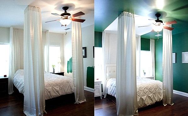 Wand Farben im Schlafzimmer die ins Auge springen