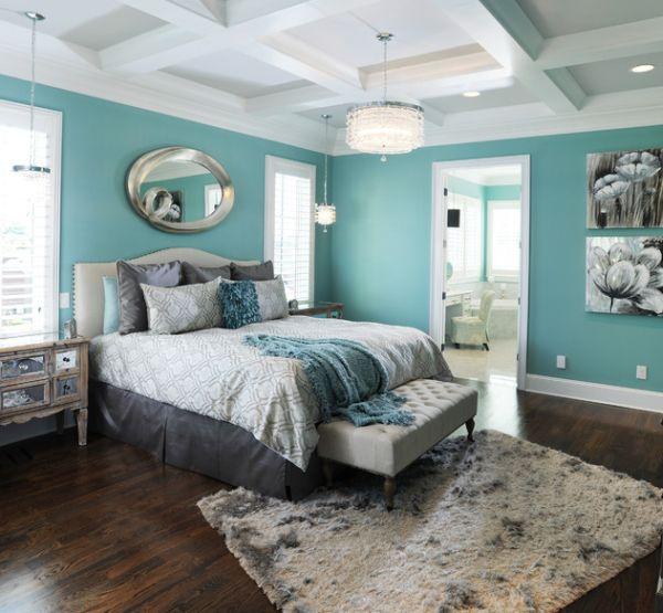 43 Coole Schlafzimmer Farbpalette Tipps  bunter Blickpunkt