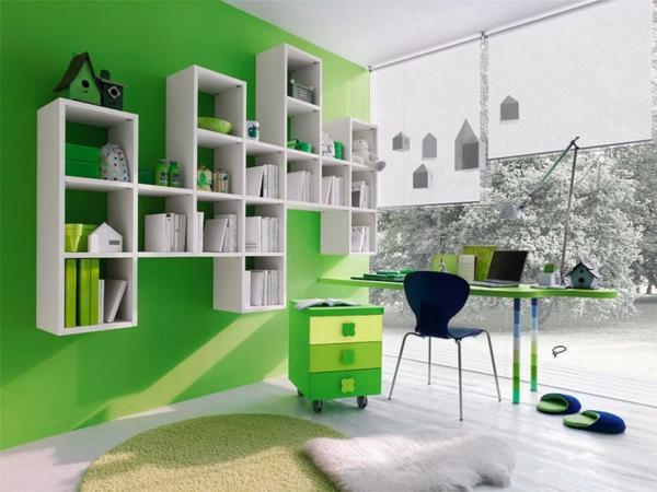 wohnzimmer grun grau streichen haus design ideen