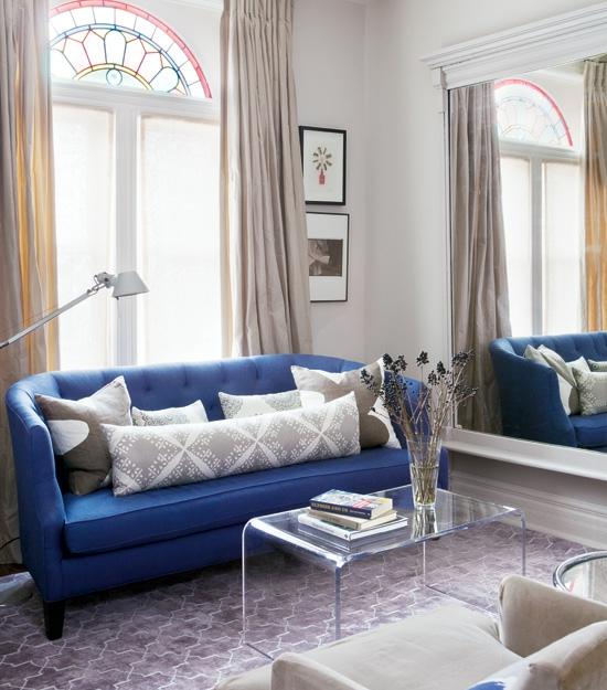 Wohnzimmer Sofa Blau Farbiger Teppich Kleines Wohnzimmer - Boisholz Wohnzimmer Ideen Blau