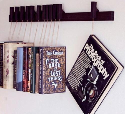 Kreative Ideen fr Bcher Aufbewahrung  Hausbibliothek Design