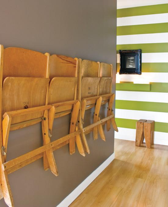 Moderne eklektische Wohnung  Neugestaltung vom kleinen Raum