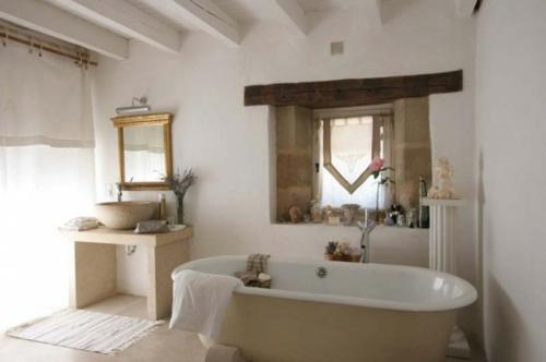 35 rustikale Badezimmer Design Ideen  lndlicher ScheunenOutfit