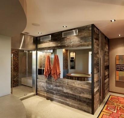 Schne Wandgestaltung Ideen  Wand Bekleidung aus Holz selber machen