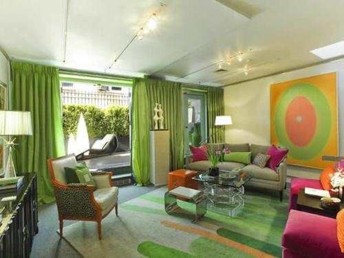 Wohnzimmer Modern Grau Grun Die Besten Einrichtungsideen Und