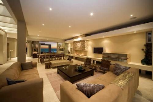 Beispiele Wohnzimmer Deckenbeleuchtung Ideen
