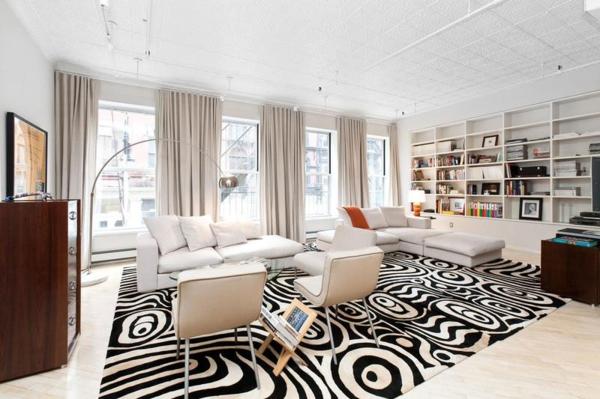 Wohnzimmer Gardinen Design - Boisholz Design Gardinen Wohnzimmer