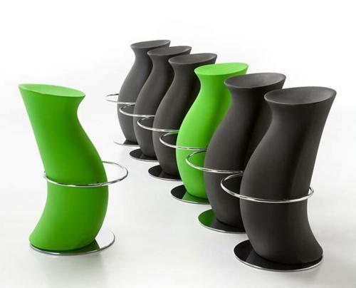 48 moderne Barhocker Designs mit Lehnen  schicke attraktive Ideen