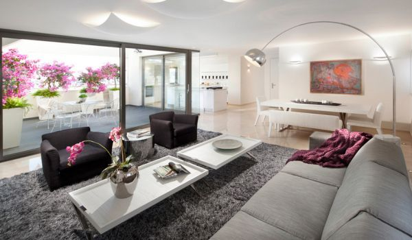 28 moderne Interior Designs mit energiesparenden Arco Bogen Stehlampen