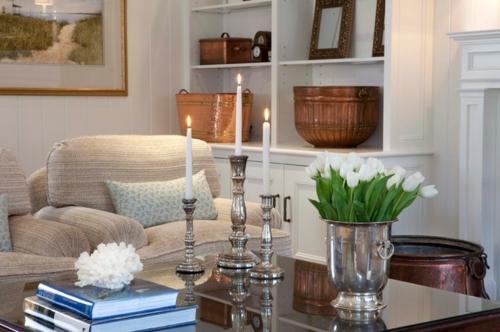 Vintage Silber Dekoration zu Hause  ein Charme aus der alten Welt