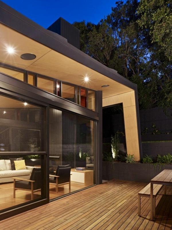Ein moderner Anbau  innovative Gebudeerweiterung in Melbourne
