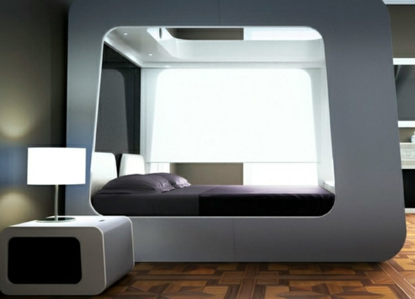 Futuristische Schlafzimmer Designs  26 originelle Einrichtungsideen