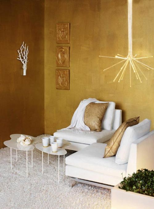 Glamourse Interior Ideen Mit Goldenem Touch 30 Tolle