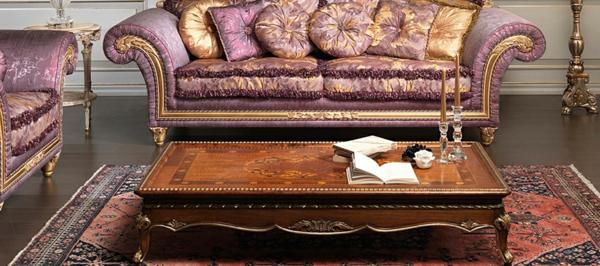 Klassische Mbel frs Wohnzimmer  traditionelle Einrichtungsideen