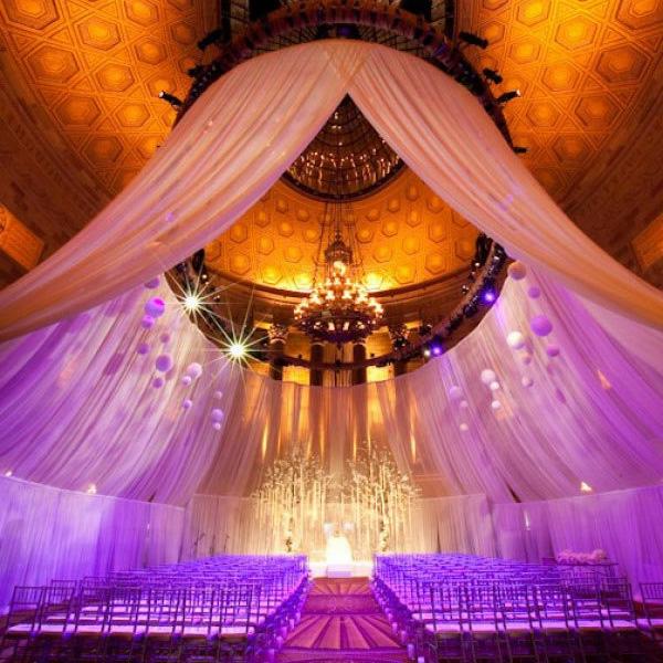 Schne Dekoideen fr extravagante Hochzeitsdekoration