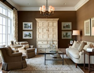 4 Color Schemes Give 1 Living Room 4 Different Looks