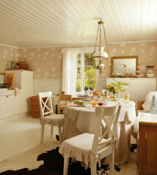 Schwedisches Gartenhaus mit mrchenhaftem Interieur zum