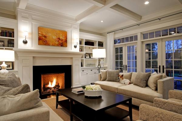 Wohnzimmer Ideen  Wie man Raumausstattung auf die Familie ausrichtet