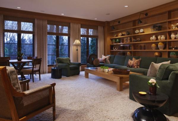 Wohnzimmer Ideen  Wie man Raumausstattung auf die Familie