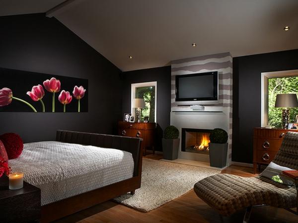 Design Wohnzimmer Farben Grau Streifen Inspirierende Bilder, Wohnzimmer  Design