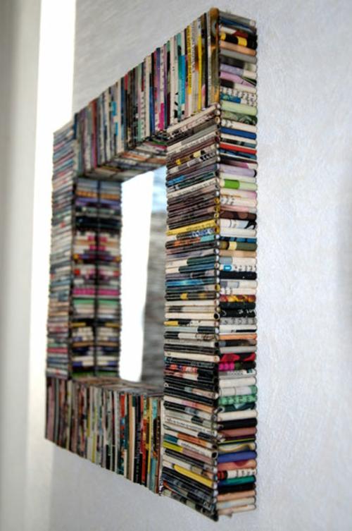15 Dekoideen fr DIY Wandspiegel Rahmen  kreativ und verblffend