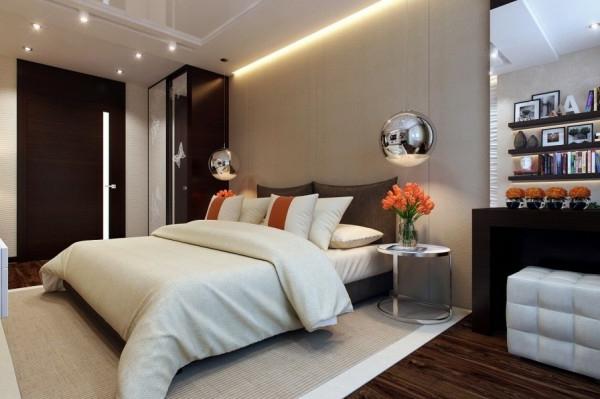 kleines zimmer modern einrichten - boisholz - Schlafzimmer Modern Gestalten